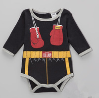 Wholesale - Retail -New 2014 doomagic Rompers Body Suit Baby One-Piece Rompers Long Sleeve Romper Boxer romper-DZY74C