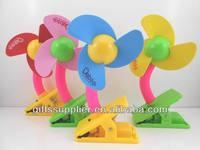 Free Shipping Deboo mini usb fan handheld battery operated cooler fan baby stroller fan wholesale with USB adapter