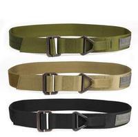Free Shipping CQB Blackhawk Outdoor Tactical Belt Men military belt Rescue rappelling belt canvas belt