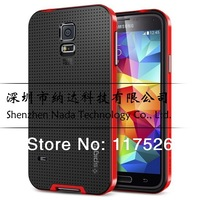 1pcs/lot SGP SPIGEN Hybird NEO Bumblebee Case Cover for Samsung Galaxy SV S5 i9600 New Slim Armour Tough Armor Case