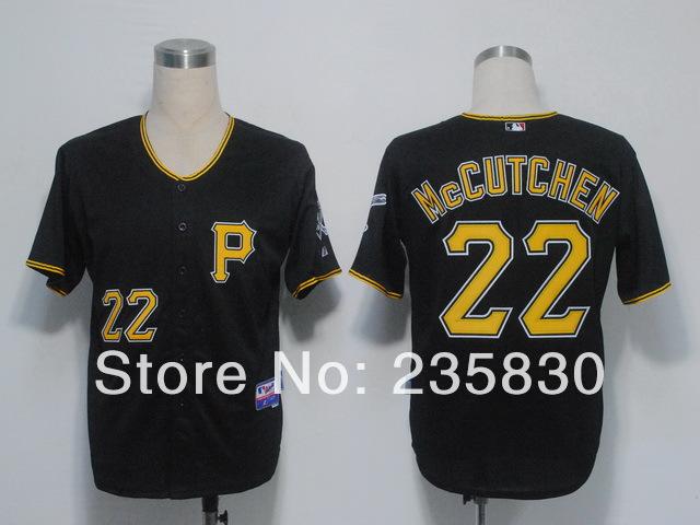 Cheaps Pittsburgh Pirates Jersey #22 Andrew McCutchen baseball Jerseys cool base for men sports(China (Mainland))