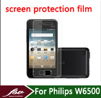 3pcs/lot Front Ultra Clear Lcd protective film For Philips Xenium W6500 HD Screen Protector cell phone Screen Protective film