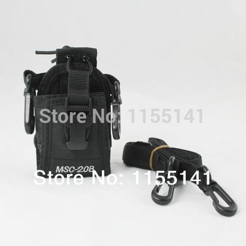 2014 New MSC-20B Portable Radio Case for Baofeng UV-5R /UV-5RE/ UV-5RA Plus Yaesu Vextex Icom Radio TYT TH-F8 + free shipping(China (Mainland))