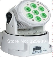 New 2014 Free Shipping cost 13CHs 7pcs 15W RGBWA 5in1 LED Moving Head Light, Moving Head LED
