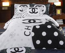 white bedding set promotion