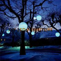 25 * 25 * 25 см света световой куб под руководством Председателя/куб с батареей/привели сад куб