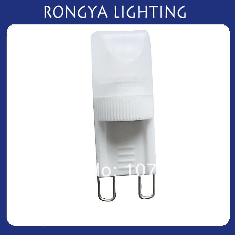 150pcs(lot) free shipping via China post 220v-240v 1.5w 14*37mm ceramic g9 energy saving lamp(China (Mainland))