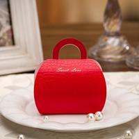 2014 Hot sale Freeshipping custom customization  wedding candy bags favour sugar box CB3510_R