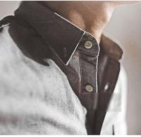 Charm ! high quality Oxford silk cloth shirt male 100% cotton long-sleeve slim shirt