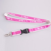 Promotion lanyard hot selling customized 2 layer strap mobile connector egg hook and plastic buckle