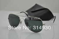 100% quality wholesale 025 sunglasses women / men sunglasses and brand sunglasses (58mm glass lenses )