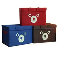 High quality clothing bear storage box finishing box miscellaneously toy storage box