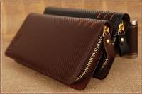 2014 New ! High Quality Extravagant Genuine Leather Wallet Men Brand Men's Fashion Vintage Male Long Wallets man purse Free