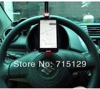 Multifunction Car Phone Holder Steering Wheel Mobile Vehicle GPS  Mount Car Supplies Creative Drop Shipping