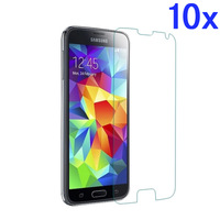 10x Clear Lcd Screen Protector film for Samsung Galaxy S5 SV i9600