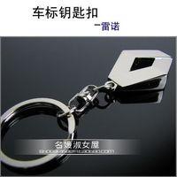 Male renault emblem keychain car keychain key ring key chain key ring laser lettering 1