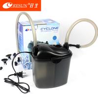 Small fish tank filter external filter bucket aquarium oxygen
