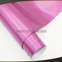 Free shipping rose red glitter diamond gloss vinyl car wrap sticker 152*30cm