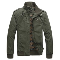 FREE SHIPPING,New Arrival Men's Fashion Casual Winter Jacket Cotton Coat 2139