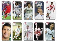 free shipping 1pcs/lot Brand New Cristiano Ronaldo hard white case mobile phone case cover for iphone 4 4G 4S iphone4 C19