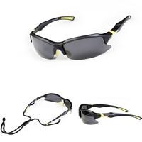 WOLFBIKE Bike Bicycle Cycling  Casual Sports Sunglasses Eyewear Racing Goggle Fashion Sun Glasses Polarized Lenses Black