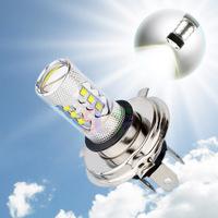 2pcs H4 80W Cree LED White cars Fog Head lights Bulb auto Lamp Vehicles Signal Tail parking car light source free shipping