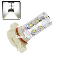 2pcs Cree LED H16 60W Driving Lamp White car Fog Head Bulb auto Vehicles parking Turn Signal Reverse Tail Lights car light