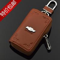 Chevrolet key wallet genuine leather car key cover for chevrolet Cruze Aveo CAMARO EPICA CAPATIVA Spark Malibu