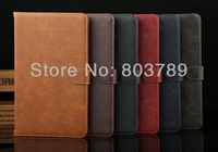 Fashion Crazy-horse PU Leather Book Cover Case for Samsung Galaxy Tab Pro 8.4 T320,with card slots,retail and wholesale,1pcs/lot