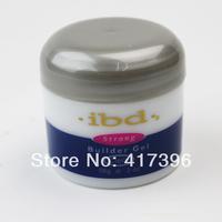 18pcs all clear Transparent color IBD Builder Gel 2oz / 56g - Strong UV Gel pink for nail art false tips extension NA394B