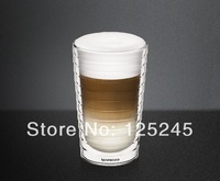 Double wall hand-blown glass Nespresso Citiz glass Espresso capsule Thermo Glass 300ml free shipping