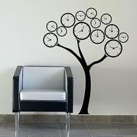Time Tree Wall Sticker  Big Art Wall Vinyl Decor Art Poster Paper Home Decal