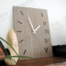 popular bamboo wall clock