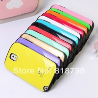 10pcs/lot Free shipping iFace Colorful PC+TPU Case for Samsung Note3 N9000