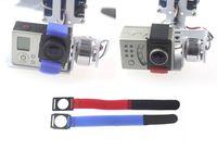 Wholesale New Fashion Magic Fix Belt Strap Camera Velcro  for GoPro 2 3 Camera on Brushless Gimbal Mount Fast Shipping