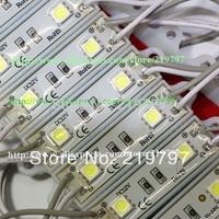 wholesale led module SMD 5050 2leds DC12V 0.5W IP65 advertising Blister luminous words logos signs Window + 600PCs + Fedex Free