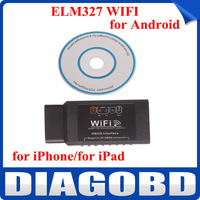 ELM327 WIFI OBD2 EOBD Scan Tool Support Android and for iPhone/for iPad with Free Shipping