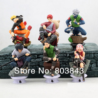 Good PVC Anime 35th Generation Chess Titans Naruto Action Figure Boys' Model Toy Gift Decoration Kakashi Gaara