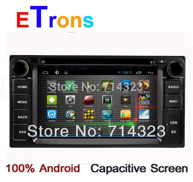 Pure Android 4.2 Toyota Hilux VIOS Old Camry Corolla Prado RAV4 Prado dvd gps 2002 2003 2004 2005 2006 2007 2008+Capacitive LCD(China (Mainland))