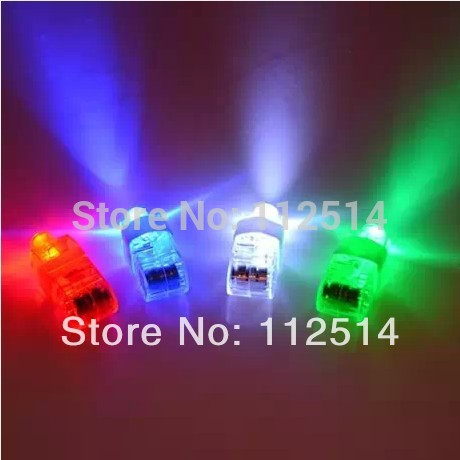 Free shipping 100pcs/lot LED laser finger light LED balloon light for Party KTV Bar decoration can mix colour(China (Mainland))