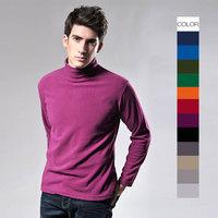 Custom high-end fashion Men's Long-Sleeved Cotton T-Shirt