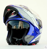 2014 seconds kill 100% polyester unisex new  safe flip up motorcycle helmet with inner sun visor double lens cross motor