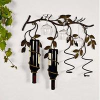 Fashion iron wine rack wine rack wall mounted wine rack wine rack