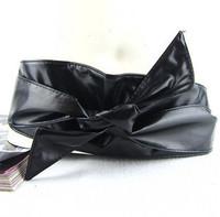 Fashion ring ultra wide cummerbund women's cummerbund decoration belt wide belt bow