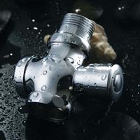 Copper hardiron flush valve stool flush valve time delay valve
