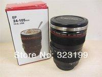 Free shipping 1pcs CPAM Coffee camera lens mug cup with orginal logo Drop shipping