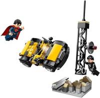 Original Box Superman Metropolis Showdown Building Block Sets Model 119pcs Bricks Classic Toys For Children Bozhi 98051