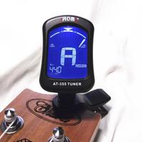 Arnoma genuine AT355 clip on tuner chromatic bass guitar ukulele violin viola tuner free shipping