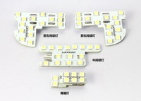 Best price 1set 5050 LED Dome light, Car reading light for Honda Civic City and Fit 2007 2008 2009 2010 2011 2012 2013