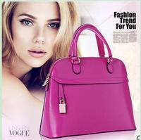 2014 new brand fashion genuine leather handbag fashion handbags shoulder bag female bag for woman +free shipping !!!